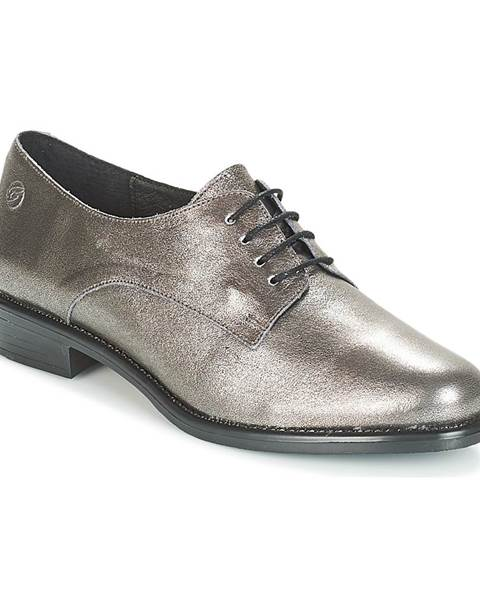 Strieborné topánky Betty London