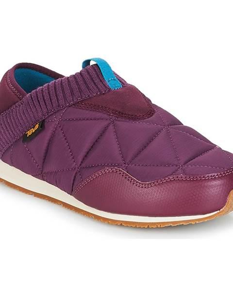 Fialové papuče Teva