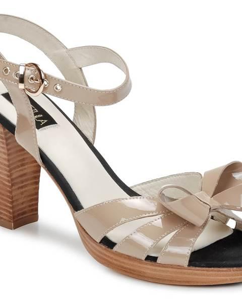 Béžové sandále C.Petula