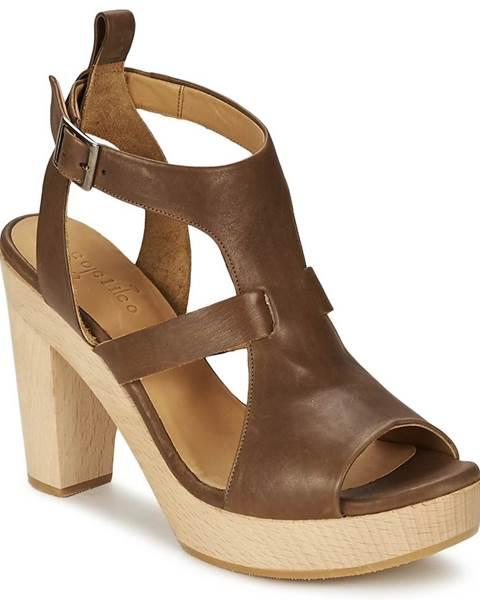 Hnedé sandále Coclico