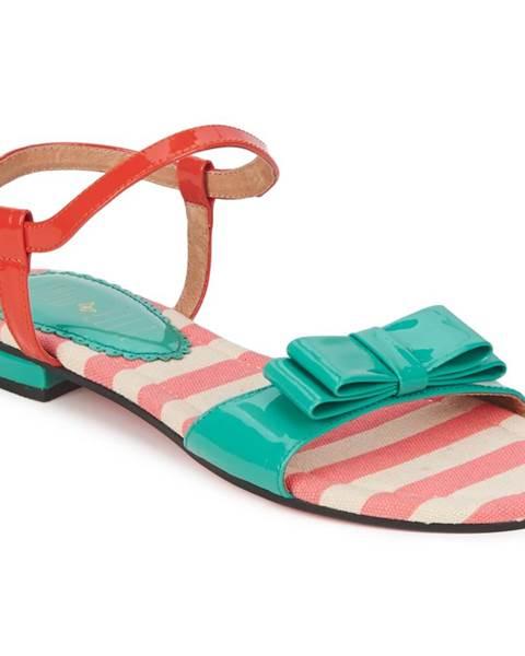 Viacfarebné sandále Edith   Ella