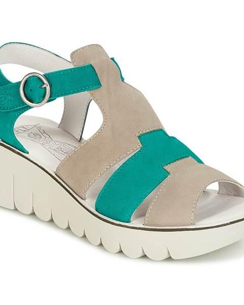 Béžové sandále Fly London