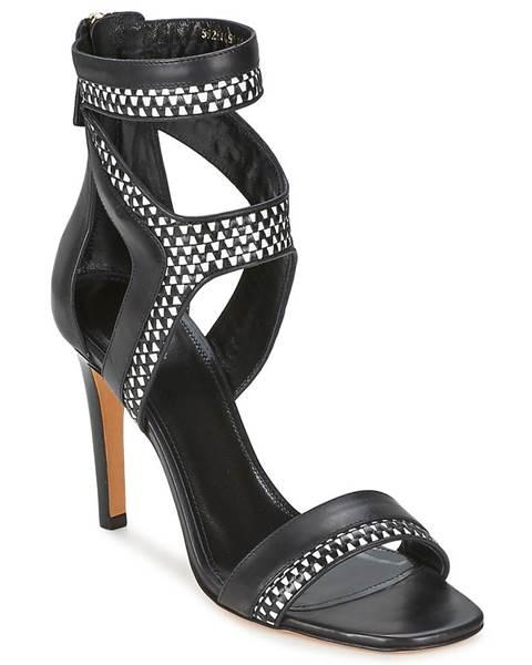 Čierne sandále Hugo Boss Black