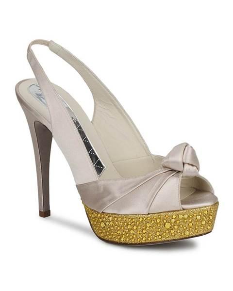 Biele sandále Magrit