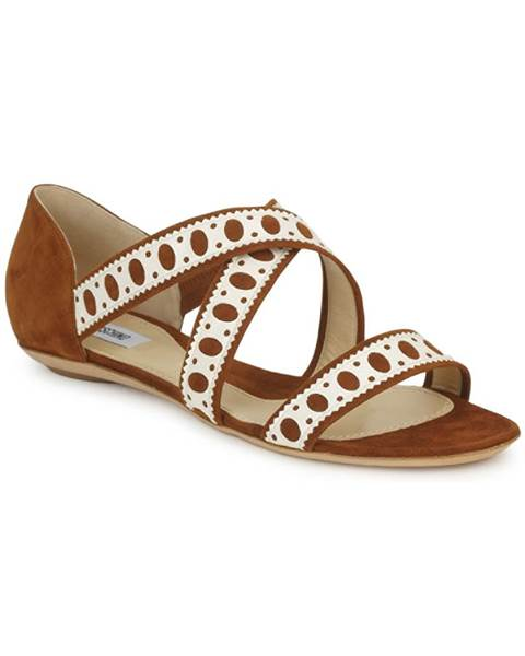Hnedé sandále Moschino