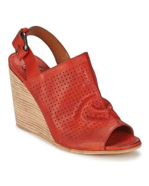 Červené sandále OXS
