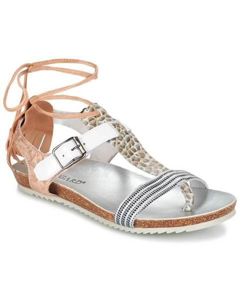 Béžové sandále Regard