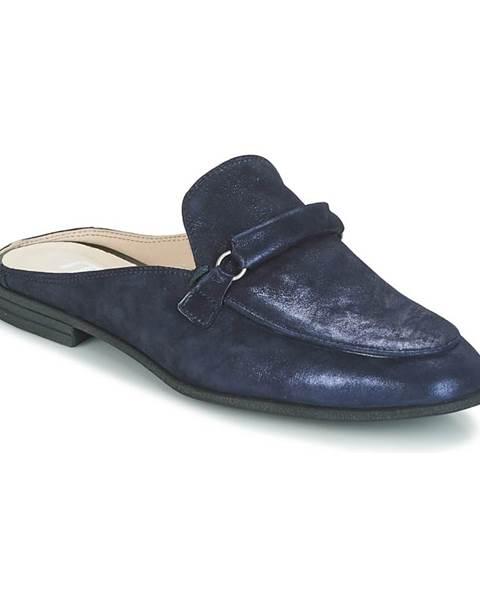 Modré topánky Mjus