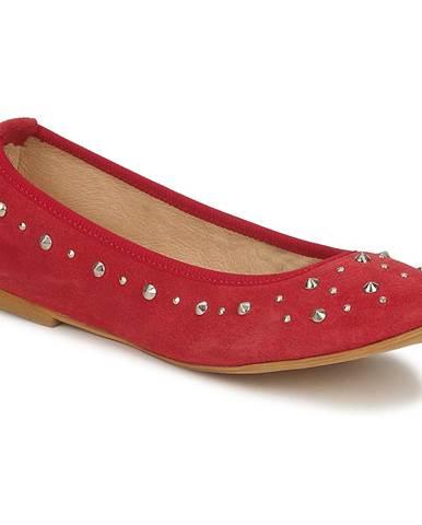 Červené balerínky Meline