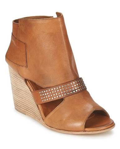 Hnedé topánky OXS