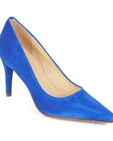 Modré lodičky Elizabeth Stuart