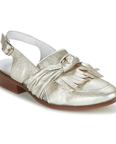 Zlaté sandále Regard