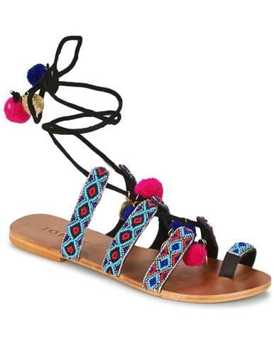 Viacfarebné sandále Jonak