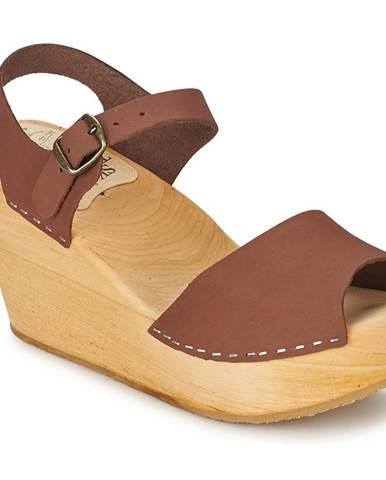 Hnedé sandále Le comptoir scandinave