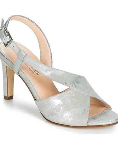 Strieborné sandále Peter Kaiser
