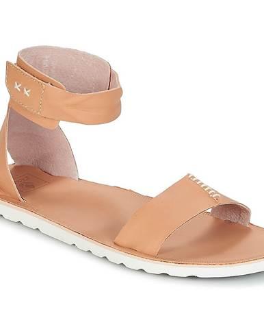 Béžové sandále Reef
