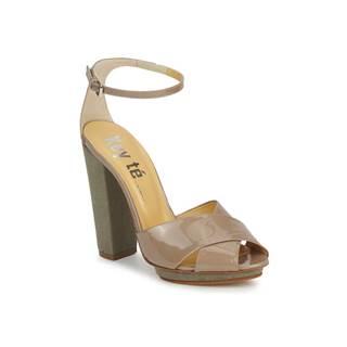 Sandále Keyté  KRISTAL-26722-TAUPE-FLY-3