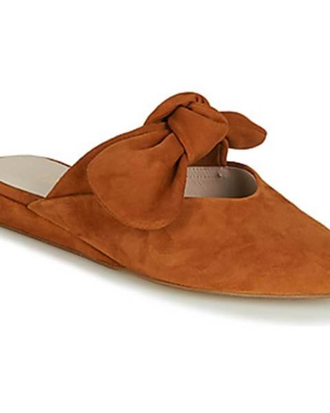 Hnedé topánky Fericelli