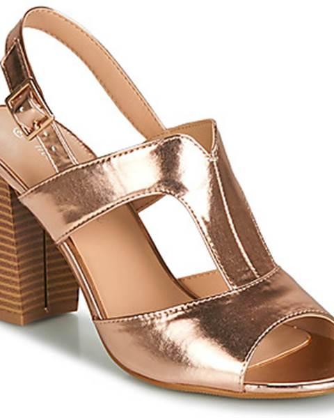 Zlaté sandále Moony Mood