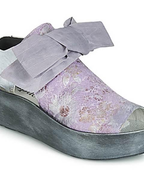 Fialové sandále Papucei
