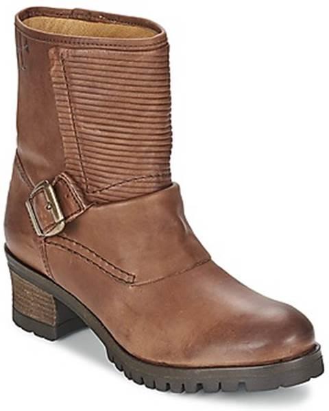 Hnedé topánky Goldmud