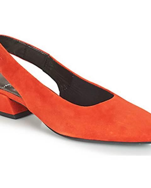 Červené sandále Vagabond