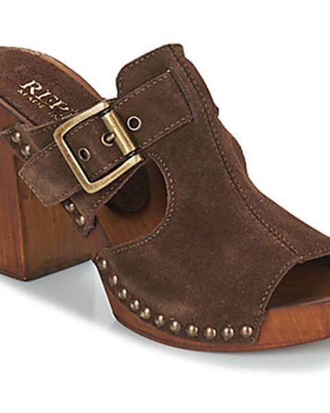 Hnedé topánky Replay