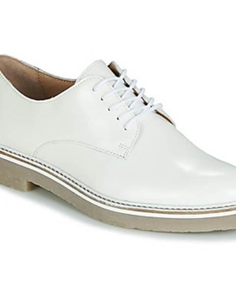 Biele topánky Kickers