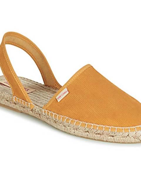 Žlté sandále Pare Gabia
