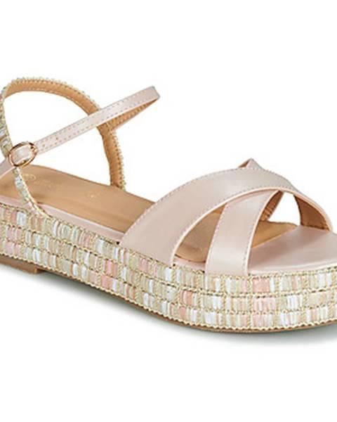 Ružové sandále Moony Mood