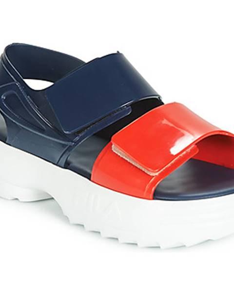 Modré sandále Melissa