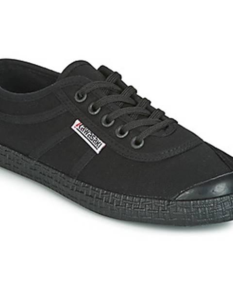 Čierne tenisky Kawasaki