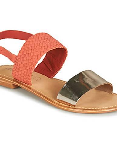 Ružové sandále Vero Moda