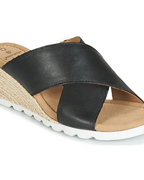 Čierne sandále Wildflower