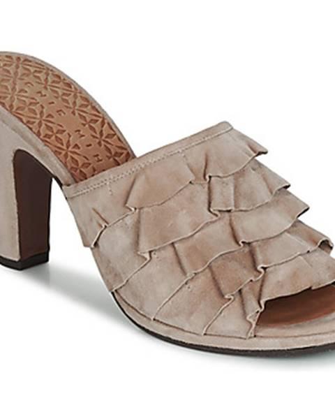 Béžové topánky Chie Mihara