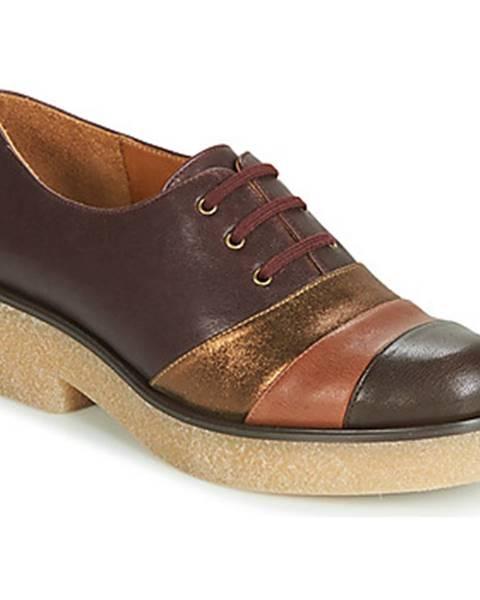 Bordové topánky Chie Mihara