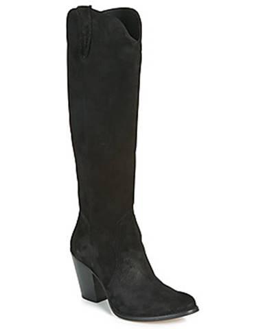 Čierne čižmy Fericelli