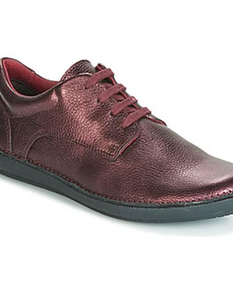 Fialové topánky Kickers