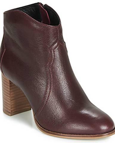 Bordové topánky Ravel