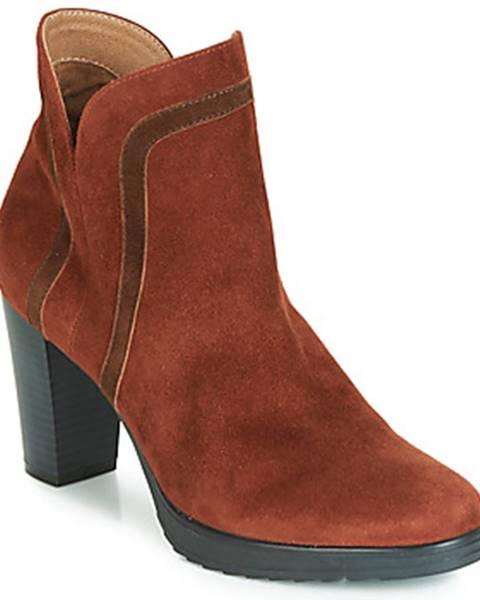 Hnedé topánky Karston