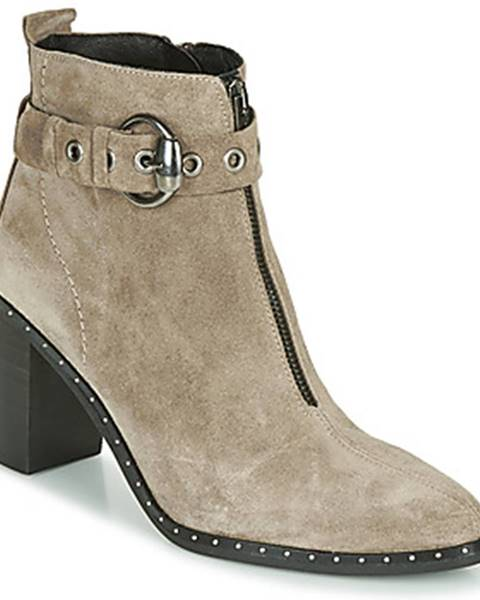 Béžové topánky Philippe Morvan