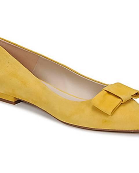 Žlté balerínky Fericelli