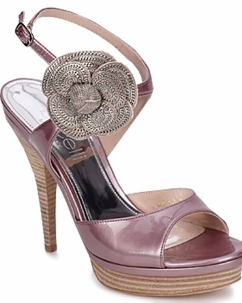 Fialové sandále Fericelli