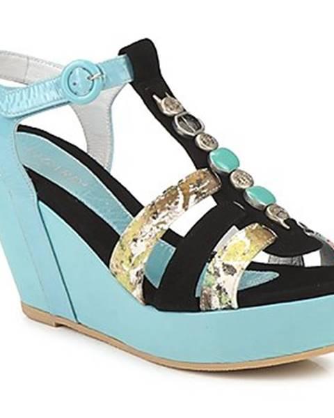 Modré sandále Regard
