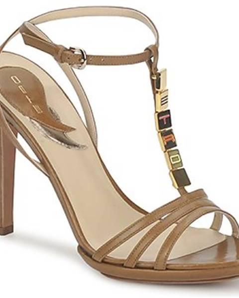 Hnedé sandále Etro