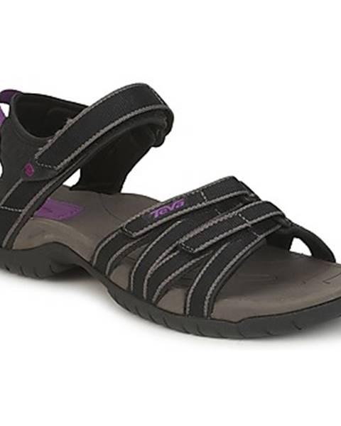 Čierne sandále Teva