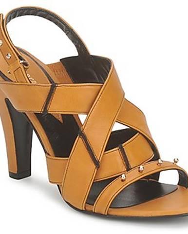 Žlté sandále Karine Arabian