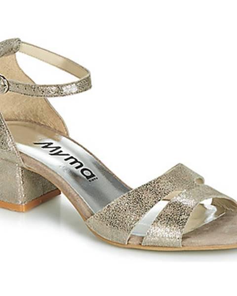 Zlaté sandále Myma