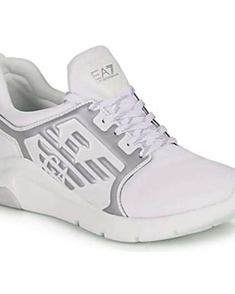 Biele tenisky Emporio Armani EA7