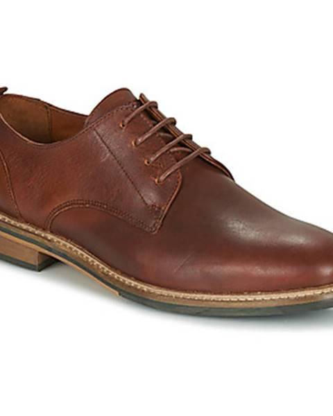 Hnedé topánky Schmoove